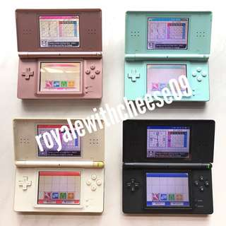 Nintendo DS Lite (screen issues)
