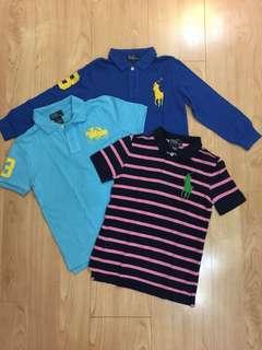 Ralph Lauren Polo T-Shirt 3件