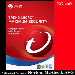 🔥Trend Micro Maximum Security for 1 / 2 or 3 years🔥