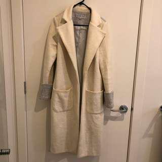 Madison Square Two-Toned Coat - Size XS (fits size 8)