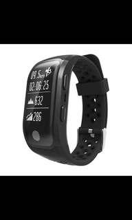 S908 Bluetooth GPS Tracker Wristband IP68 Waterproof Smart Bracelet Heart Rate Monitor Fitness Tracker Brim Smart Band