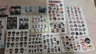 BTS防彈少年團 貼紙
