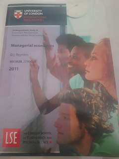 university of london managerial economics study guide