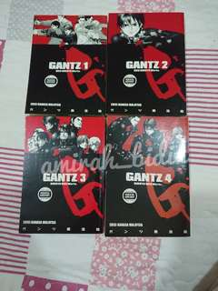 Gantz vol 1-4