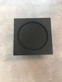 "Black floor trap 6"""