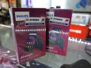 Philips s327 garansi resmi,