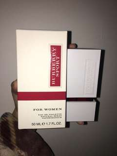 Burberry Sports Women Perfume Limited Edition