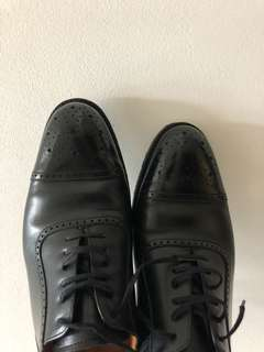 Black Shoes Septieme largeur- used twice only