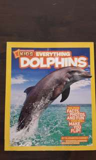 National Geographic children book - kids everything dolphins