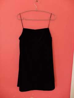 Neon Island Velvet Dress