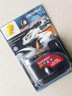 Brand new Zentorack disc brake lock w ant-thef alarm
