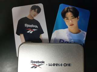 Reebok x Wanna One Card
