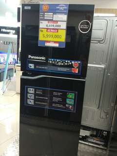 Kulkas Panasonic Inverter Promo Free 1X Angsuran Tanpa CC