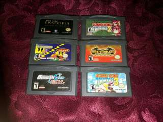 Gameboy advance bootleg games bundle