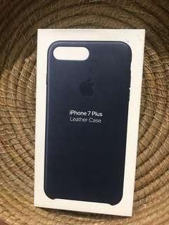 Iphone 7 plus case leather (original apple)