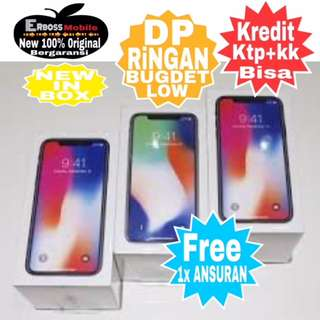 Cicilan Ditoko kami Iphone X 256GB New Original lansung Call/Wa;081905288895