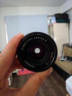 Nikon E Series 50mm f/1.8