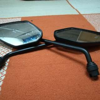 Side Mirror + Handle Grip + Balancer Ori Moto For Y15 FZ150 LC135 LAGENDA115