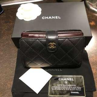Chanel 牛皮銀包