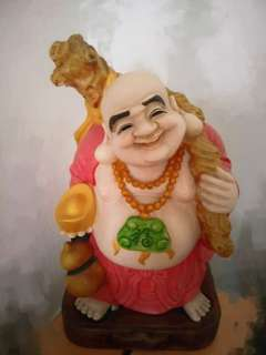 Laughing Buddha statue 38cm tall