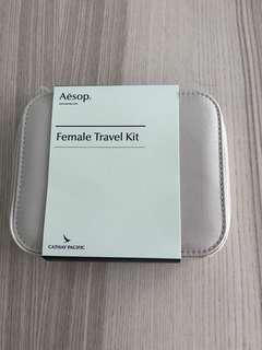 國泰頭等 Aesop travel kit Cathay Pacific
