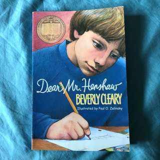 (PRE-OWNED) Dear Mr. Henshaw