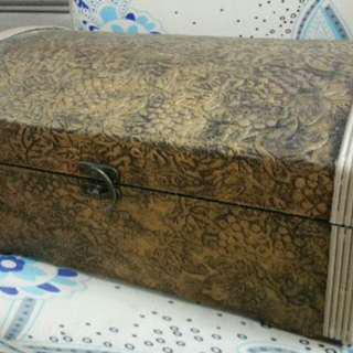 懷舊木箱 木盒 (圖有尺寸)