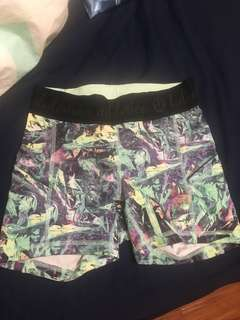 Lululemon size 2 running shorts