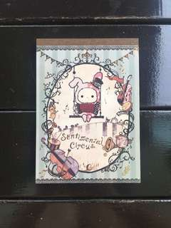 Sentimental Circus Note Pad
