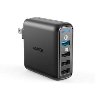 Anker PowerPort Speed 4 Wall Charger with Quick Charge 3.0 and PowerIQ