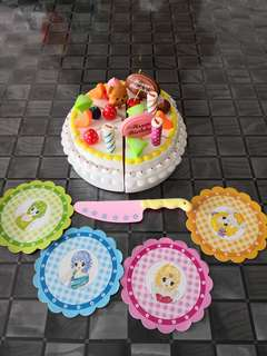 Cake party set