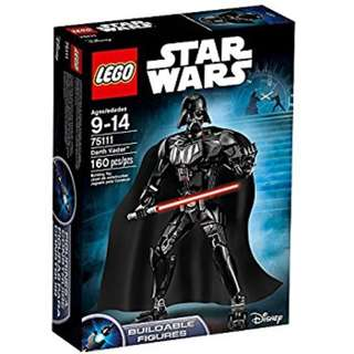Leeogel Lego Star Wars 75111 Darth Vader Buildable Figure - New In Sealed Box