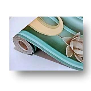 Wallpaper dinding 10 meter x 45 cm