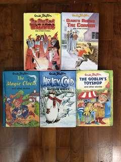 5 Enid Blyton books