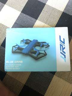 Blue crab foldable drone