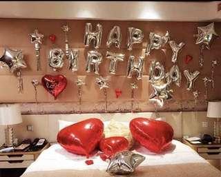 🚚 BIRTHDAY BALLOONS DECORATION SETS(INSTOCK)