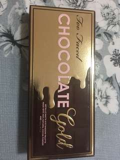 🚚 Too Faced Chocolate Golf Eye shadow palette