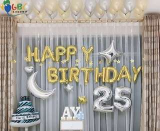 🚚 Birthday decorations balloons(INSTOCK)