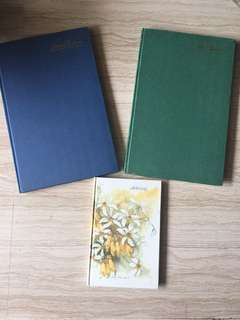 Index books & notebook  Urgent clearance $6 in bundle