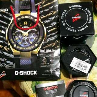 FOR SALE: Original G-Shock Aviation Gravity Master GA-1000 series -with box -Very good condition -w/sensor(Temp and Compass) -Autolight (Nice feature, see pics to appreciate) -200m Water Resist