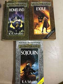 Forgotten Realms - The Dark Elf Trilogy