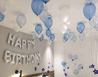 🚚 BIRTHDAY DECORATIONS BALLOONS (INSTOCK)