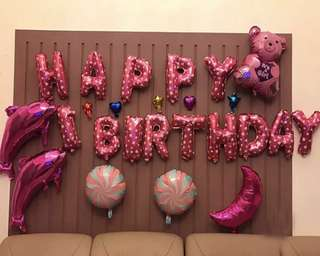 🚚 Birthday decorations balloons