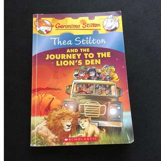 Thea Stilton- And the journey to the lion's den