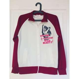 🌸SALE🌸 Maroon Varsity Jacket
