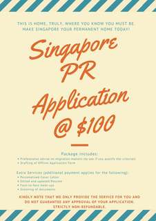 Singapore Permanent Resident Application Service