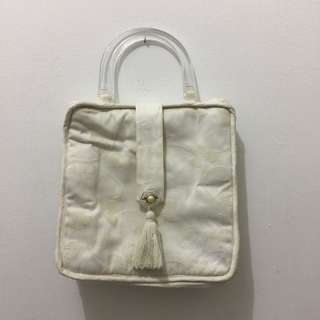 White square bag