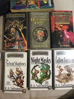 Forgotten Realms P60 each; P300 for all