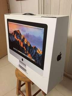 iMac全新未開,保用巳過