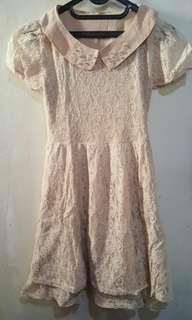 Preloved Dress Brukat